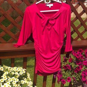 Jennifer Lopez Luke new pink top blouse